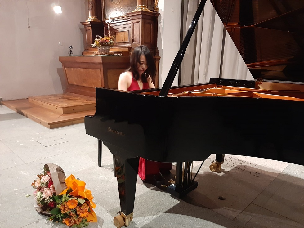 Die taiwanesische Pianistin Shih Wei Huang begeisterte in Sursee