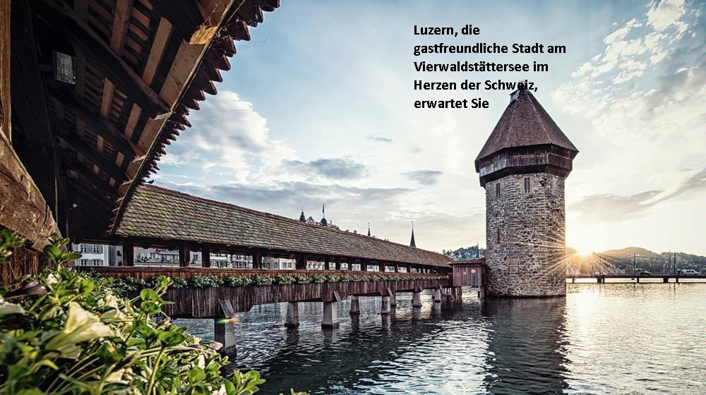 Mit Klick auf das Bild gelangen Sie auf die Homepage von Luzern Tourismus