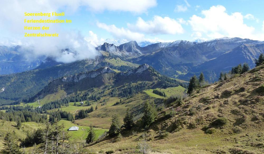 Sörenberg Flueli Tourismusdestination im Sommer